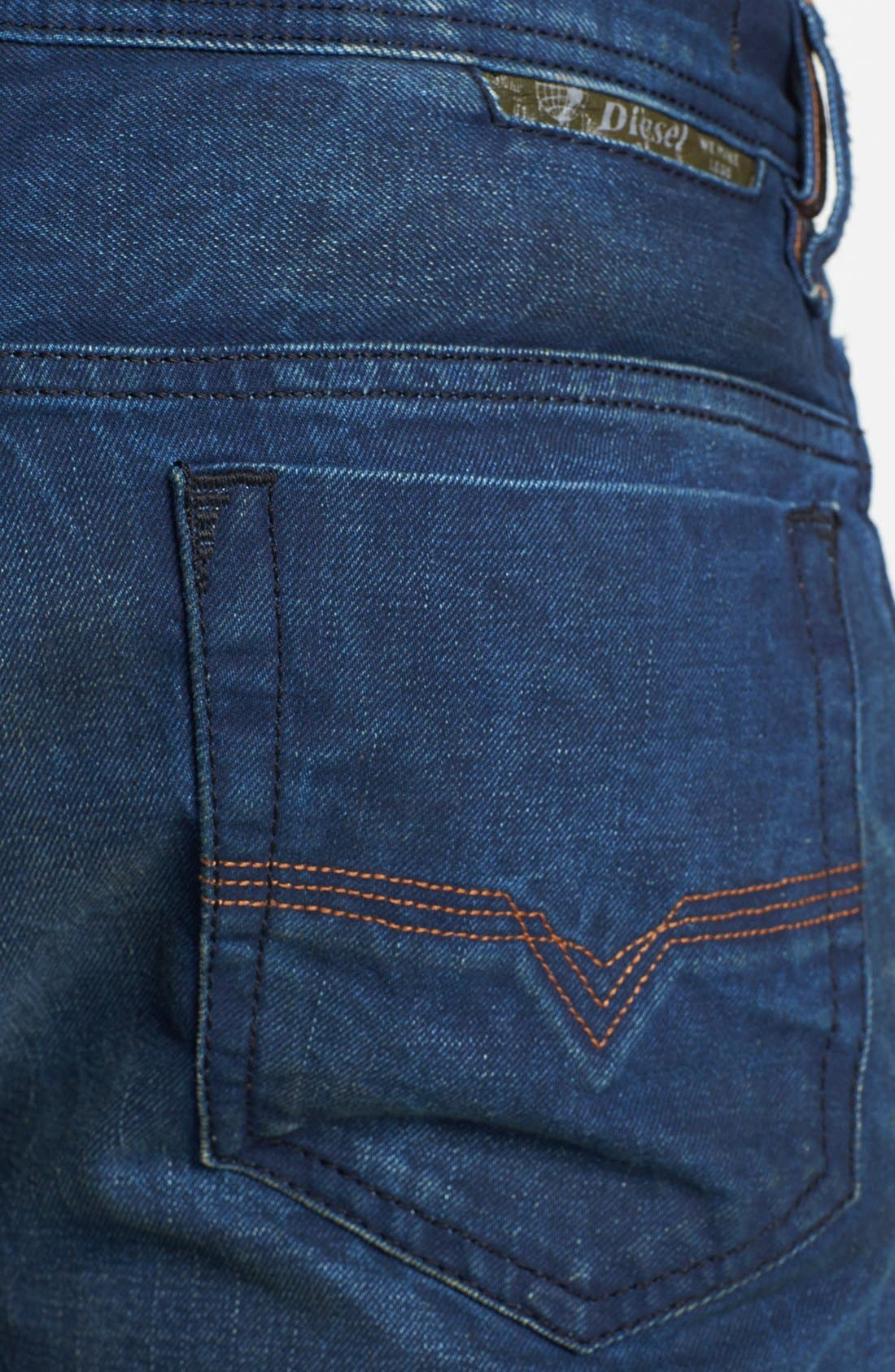 Alternate Image 4  - DIESEL® 'Safado' Slim Fit Jeans (0815A)