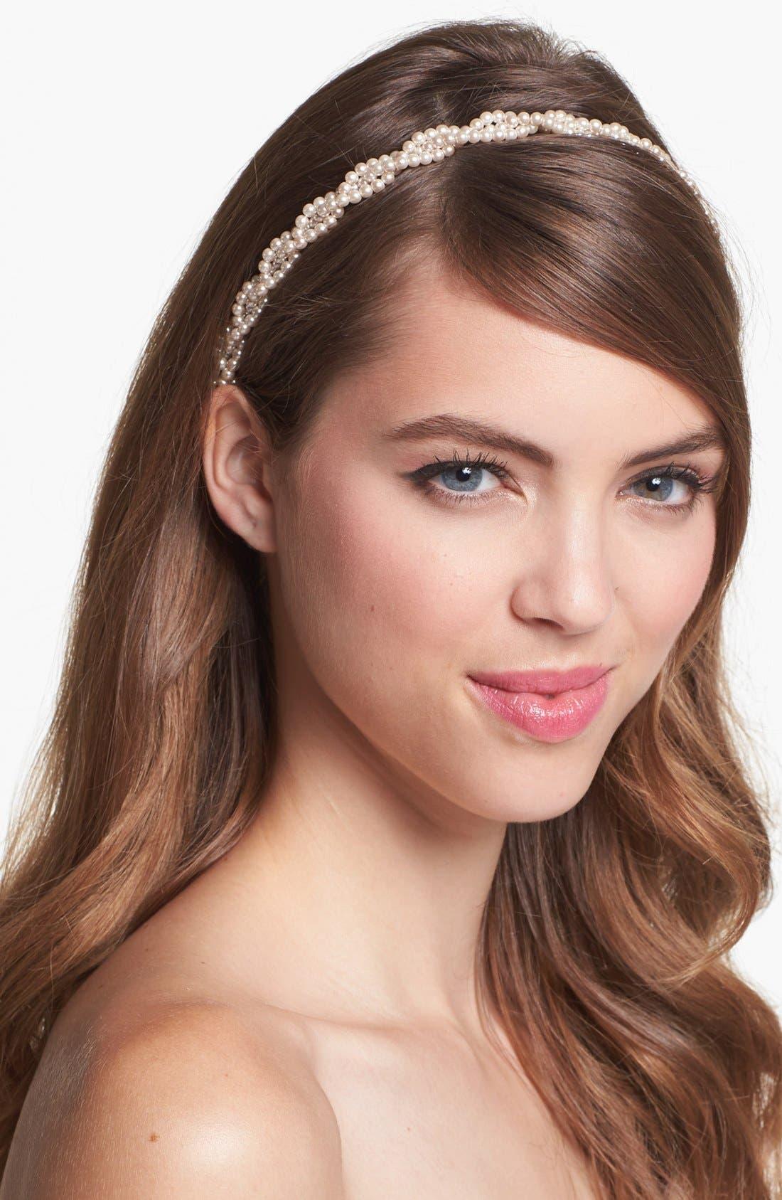 Main Image - Cara 'Twisted Pearl' Head Wrap