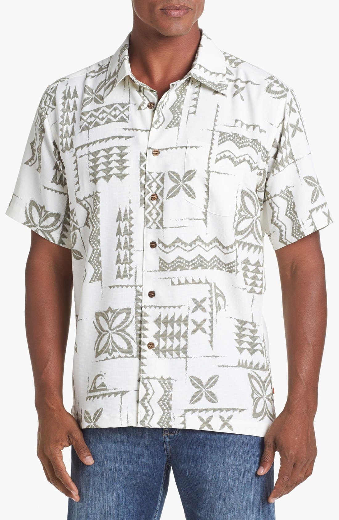 Alternate Image 1 Selected - Quiksilver Waterman 'Izu Isle' Campshirt