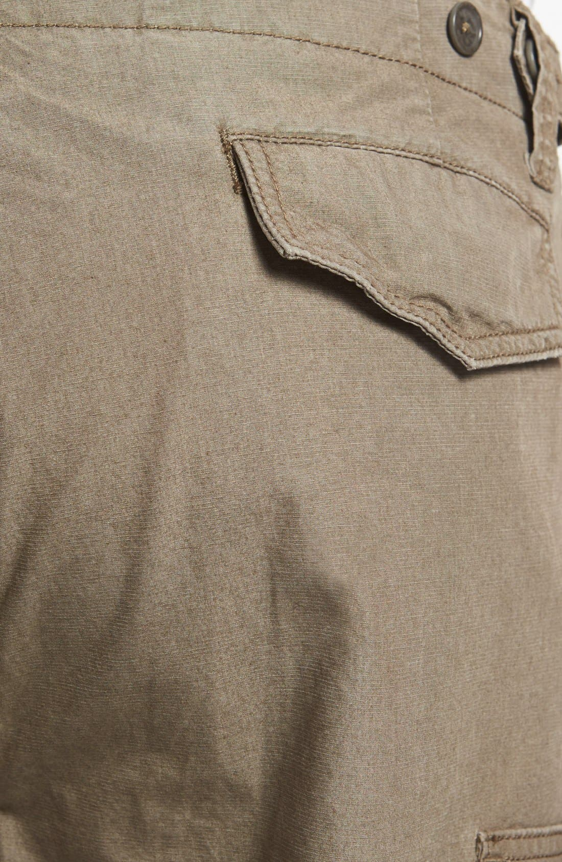 Alternate Image 3  - John Varvatos Star USA 'Explorer' Linen Cargo Pants