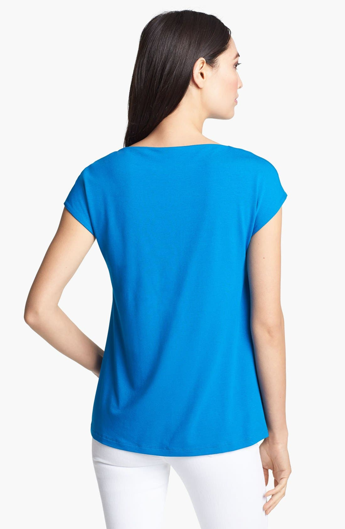 Alternate Image 2  - Eileen Fisher Drape Neck Top