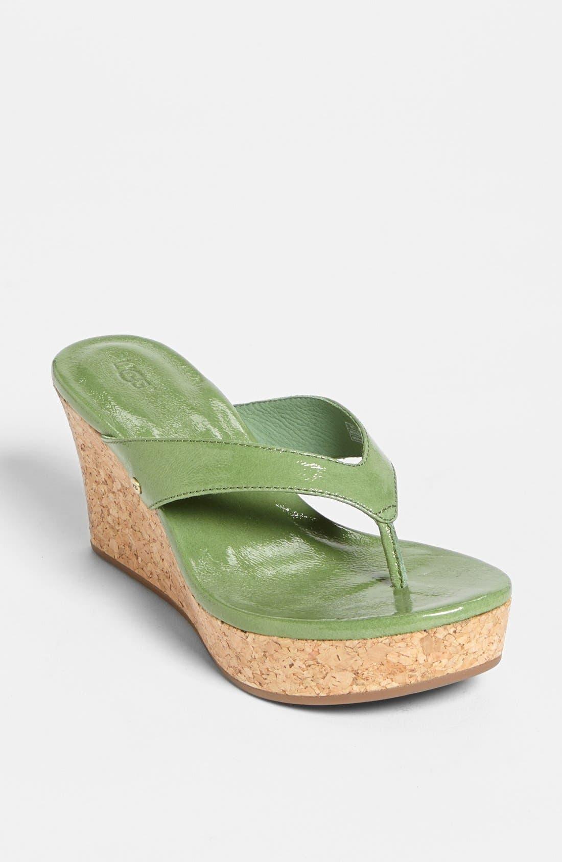 Alternate Image 1 Selected - UGG® Australia 'Natassia' Sandal