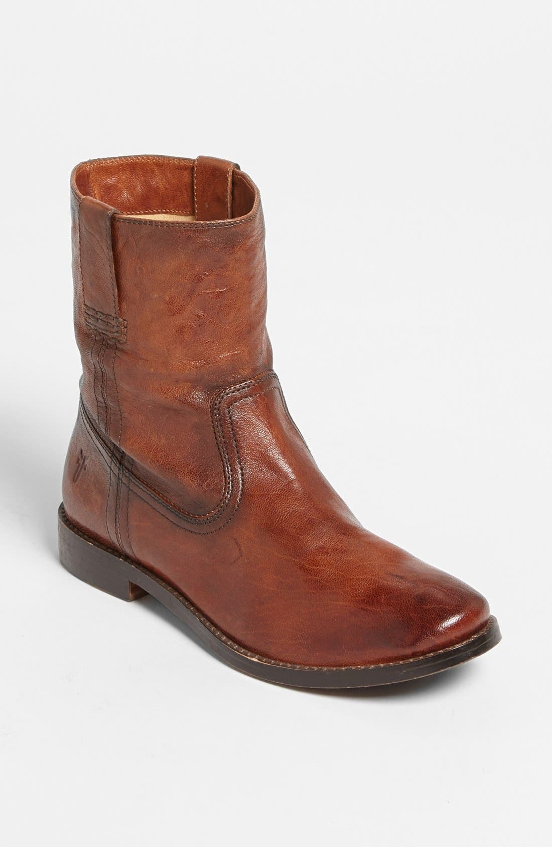 Alternate Image 1 Selected - Frye 'Anna - Shortie' Leather Boot (Women)