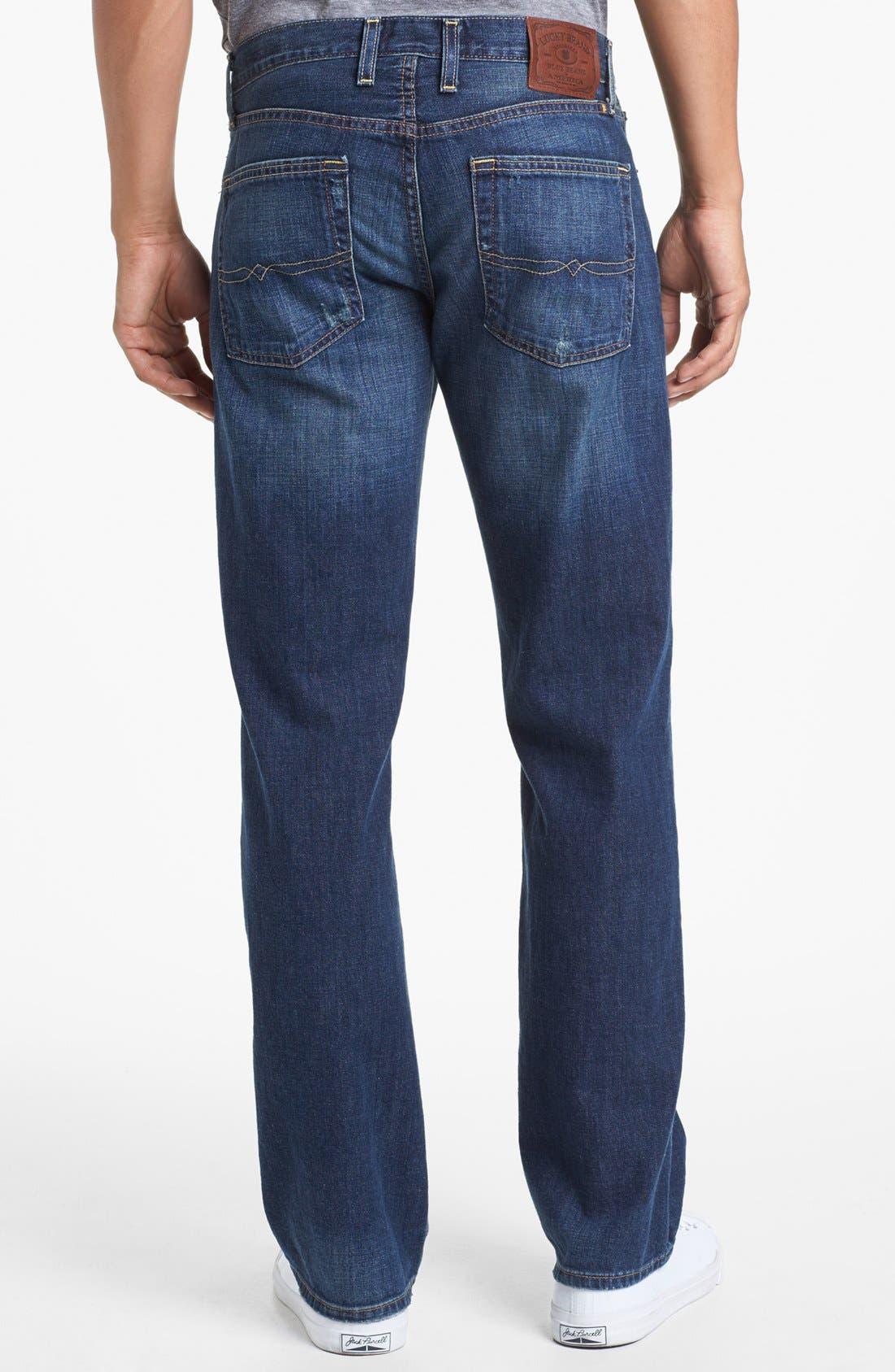 Alternate Image 2  - Lucky Brand '361 Vintage' Straight Leg Jeans