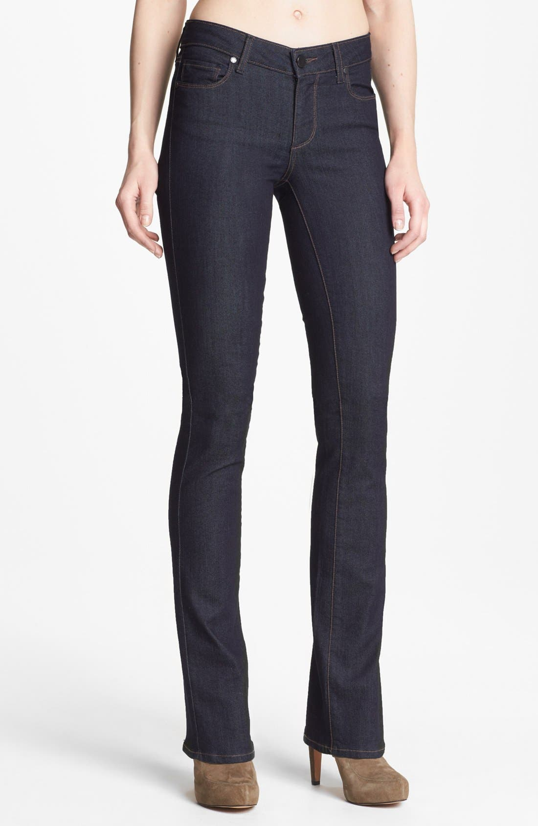 Alternate Image 1 Selected - Paige Denim 'Manhattan' Baby Bootcut Jeans (Elyse)