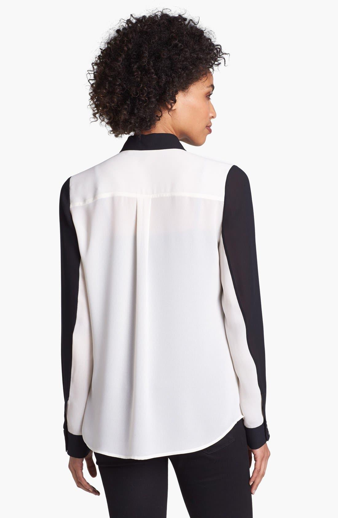 Alternate Image 2  - Halogen® Classic Collar Shirt