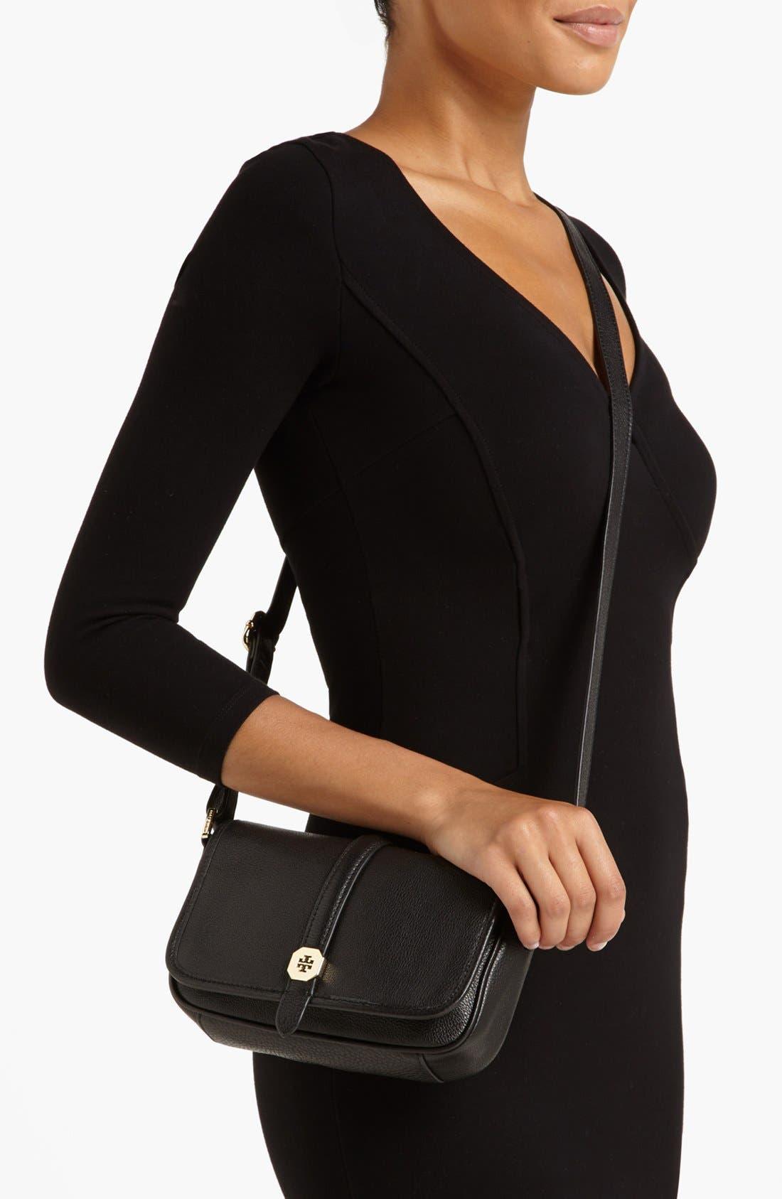 Alternate Image 2  - Tory Burch 'Clay - Mini' Leather Crossbody Bag