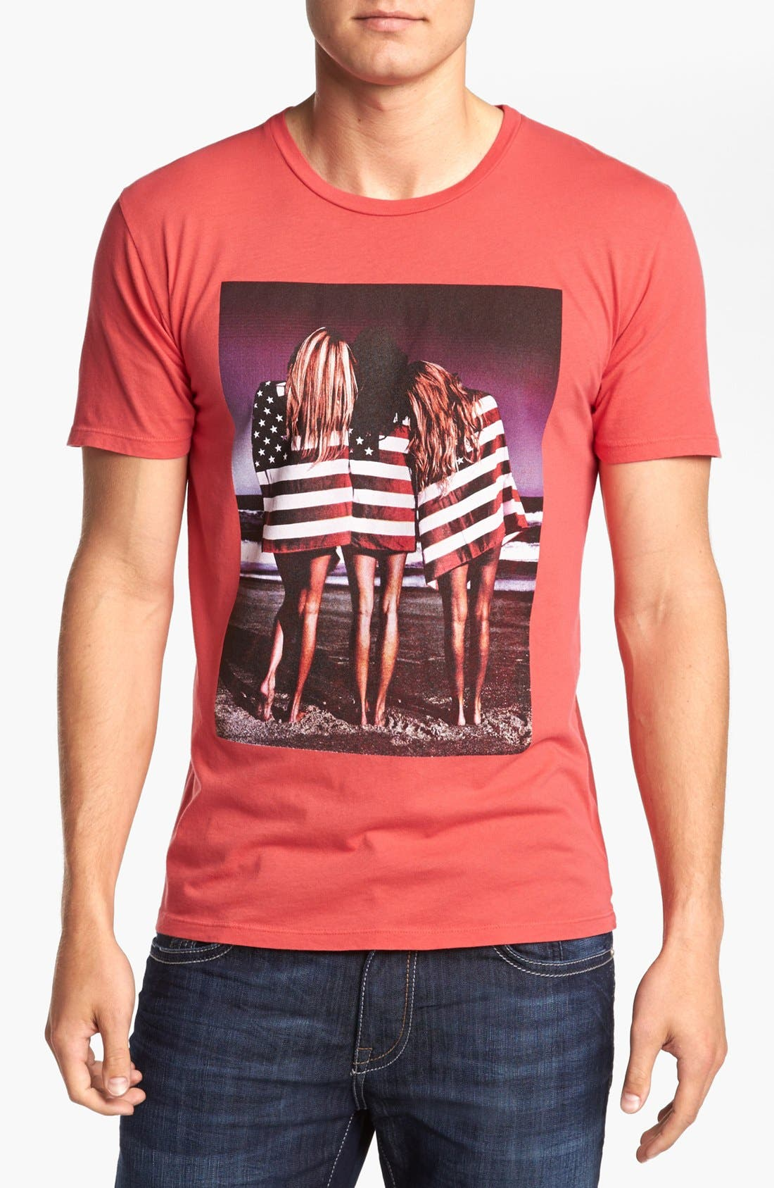 Alternate Image 1 Selected - Altru 'Flag Girls' T-Shirt