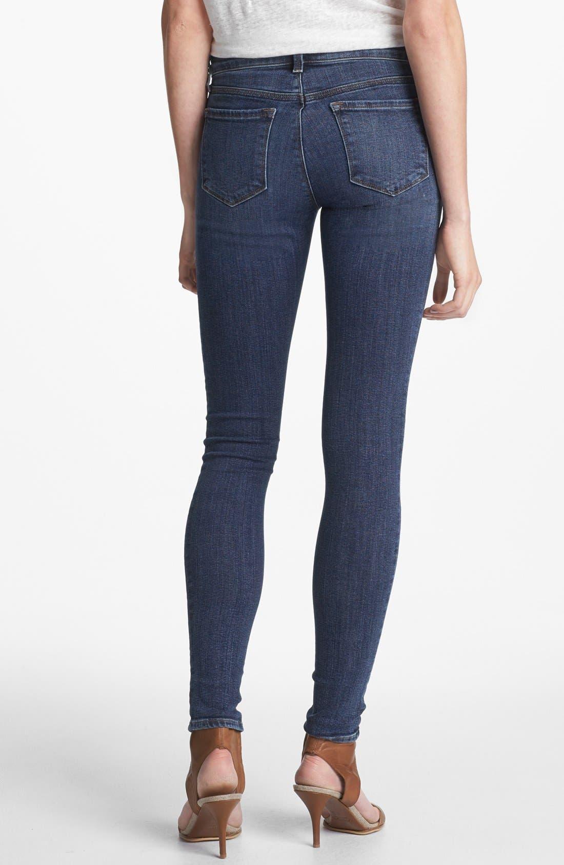 Alternate Image 2  - J Brand '620' Mid-Rise Skinny Jeans (Quantum)