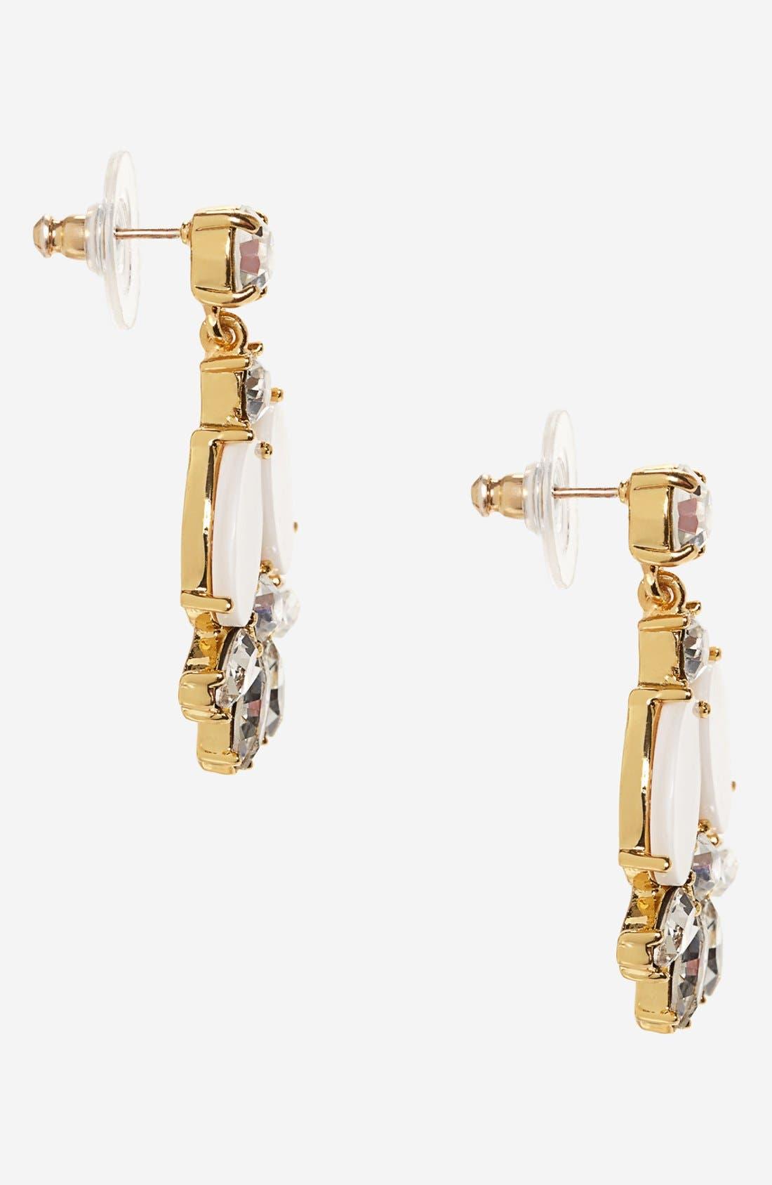 Alternate Image 2  - kate spade new york 'bungalow bouquet' cluster drop earrings