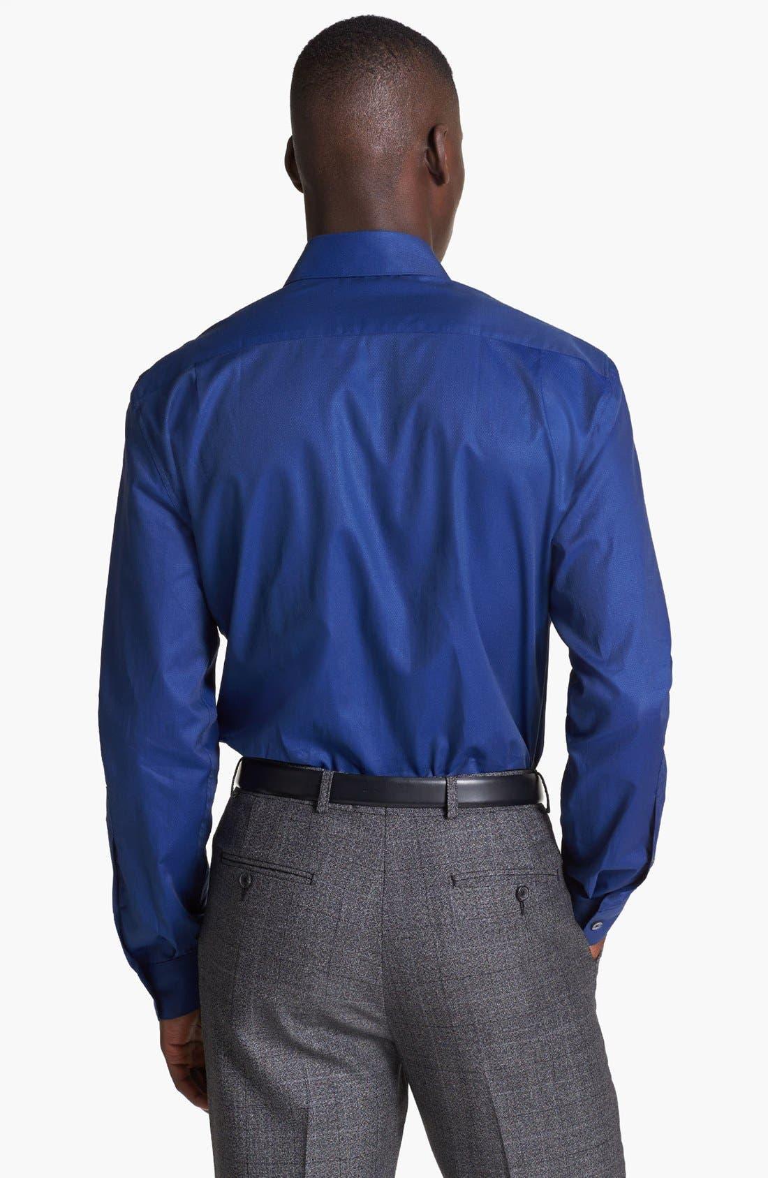 Alternate Image 2  - Paul Smith London Microdot Print Cotton Shirt