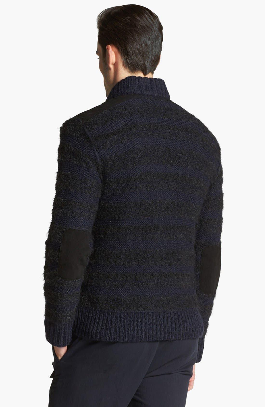 Alternate Image 2  - John Varvatos Collection Chunky Knit Sweater