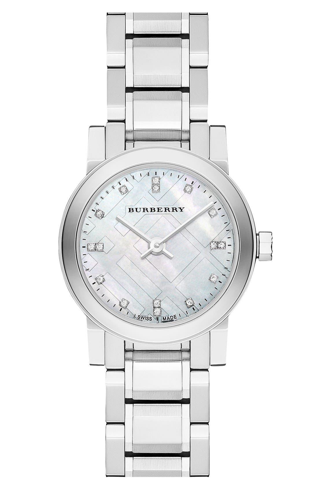 burberry bracelet watch