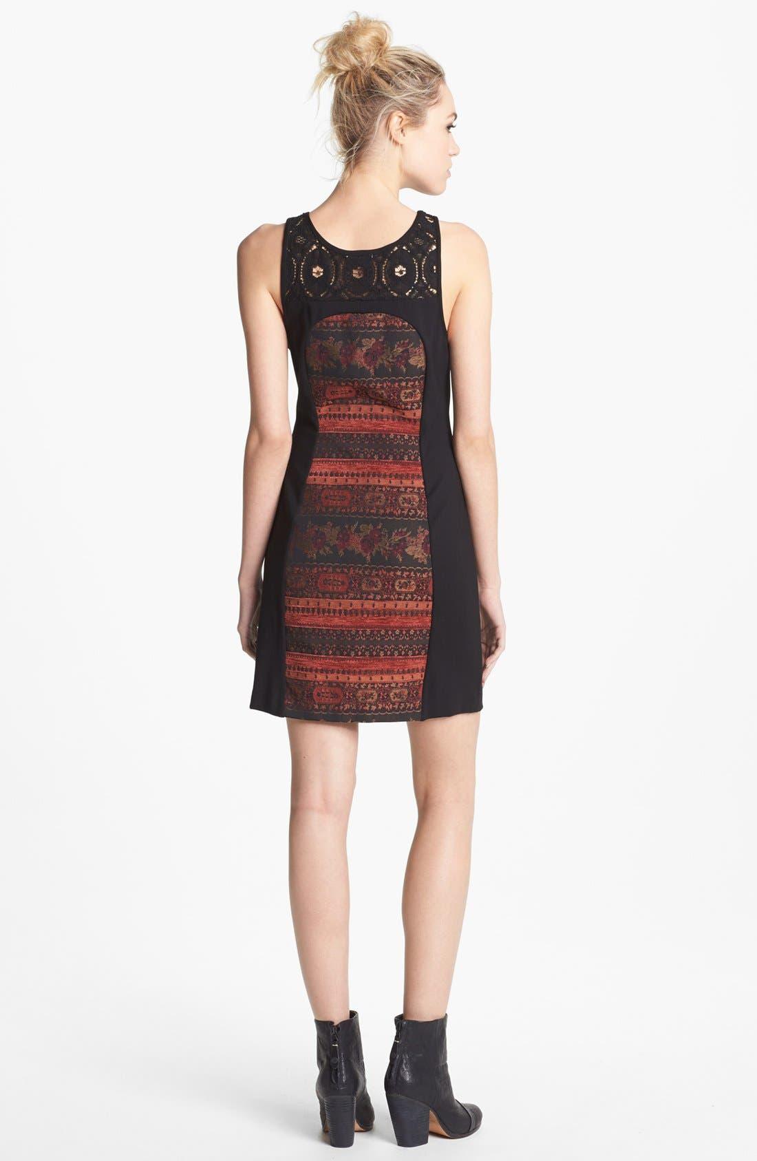 Alternate Image 2  - BB Dakota 'Aria' Mixed Media Sheath Dress