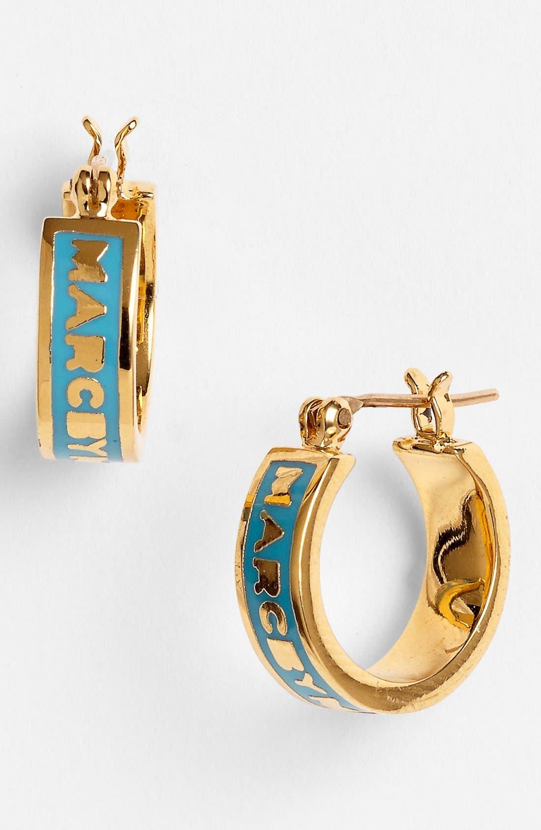Alternate Image 1 Selected - MARC BY MARC JACOBS 'Classic Marc' Hoop Earrings