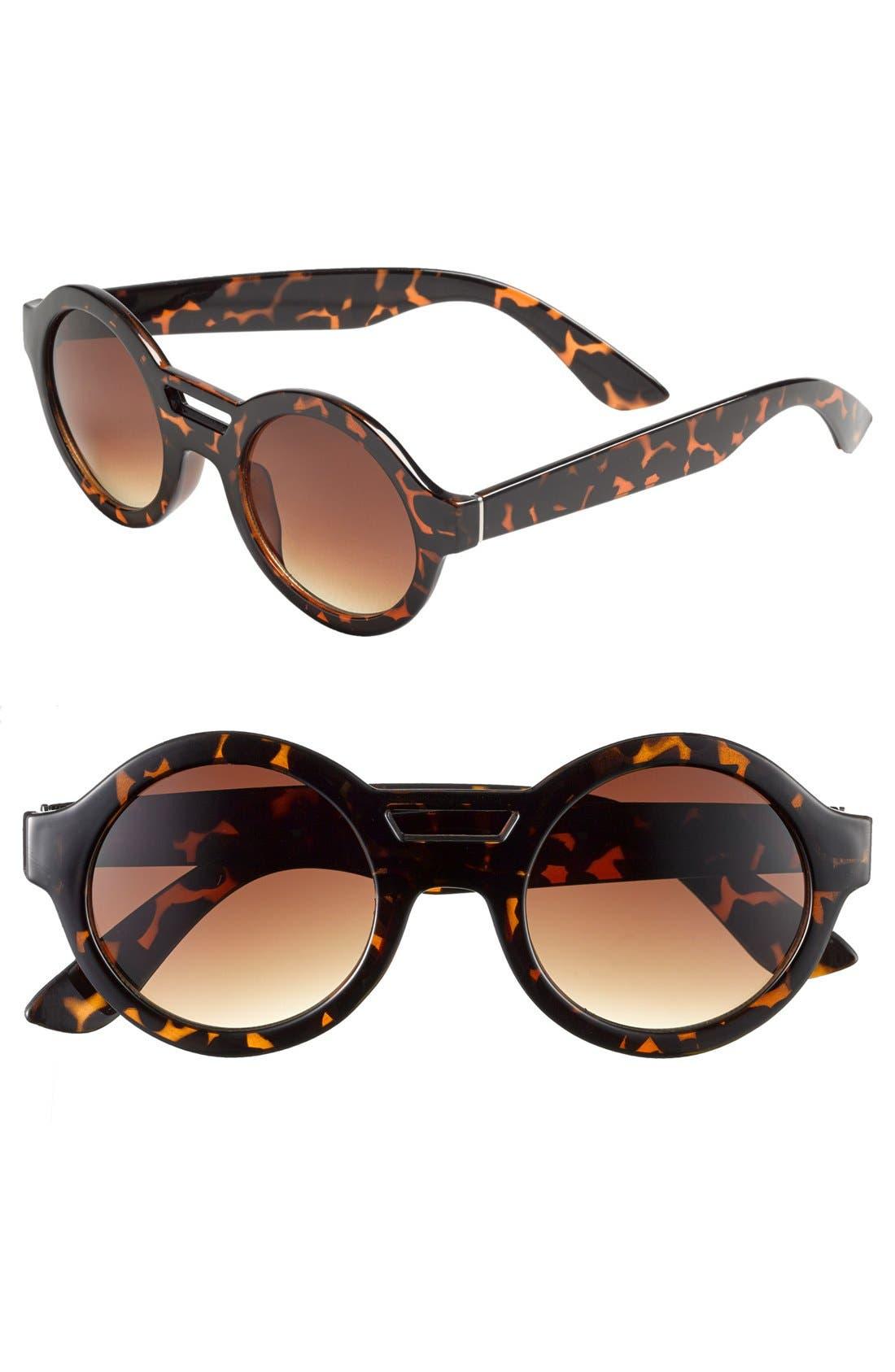 Alternate Image 1 Selected - Tildon Round Sunglasses