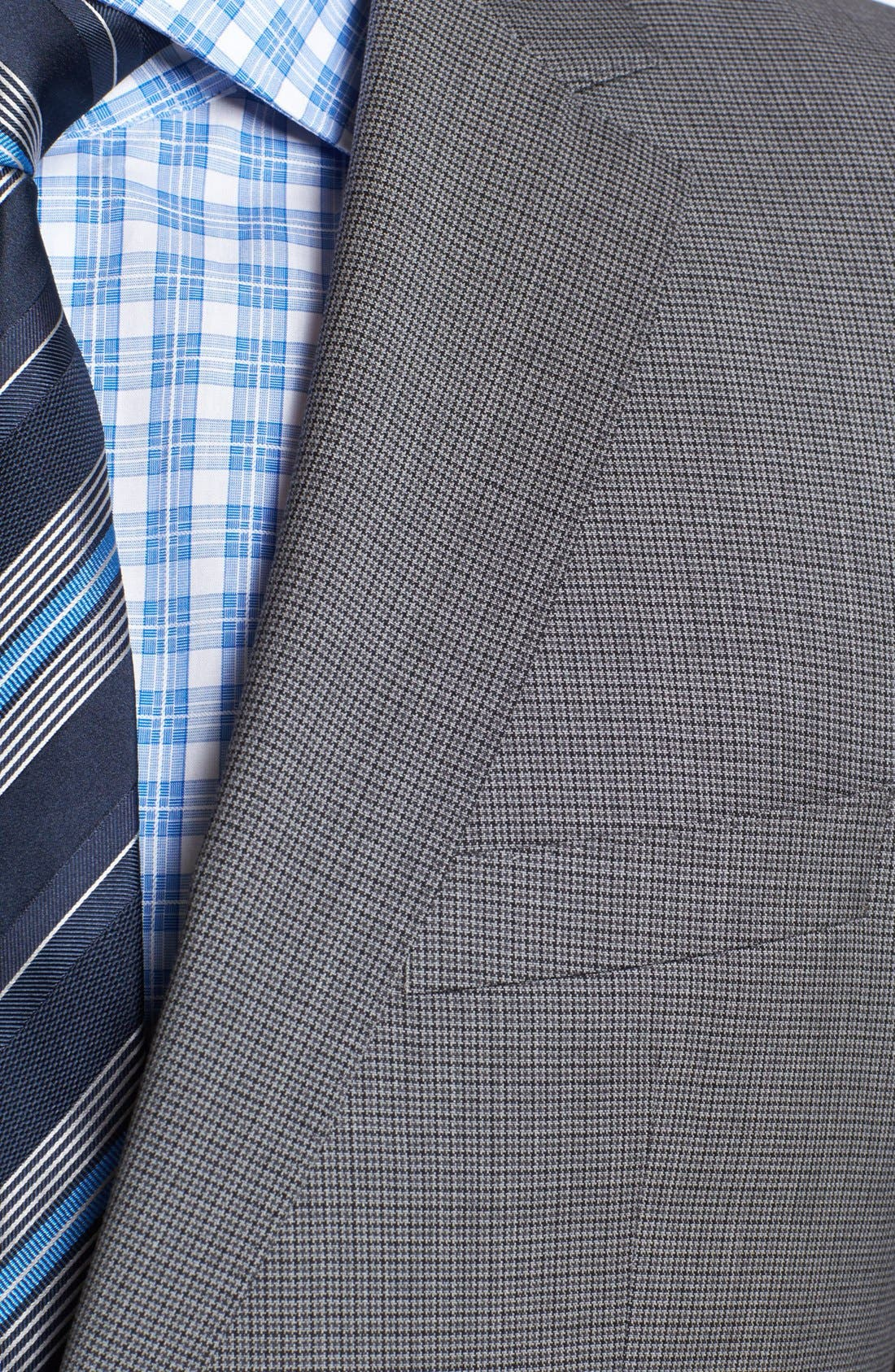 Alternate Image 2  - BOSS HUGO BOSS 'James/Sharp' Trim Fit Houndstooth Suit