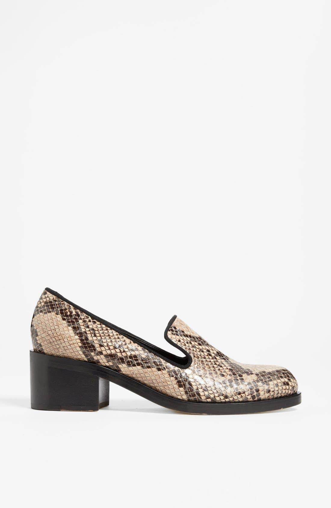 Alternate Image 4  - Stella McCartney Python Print Loafer