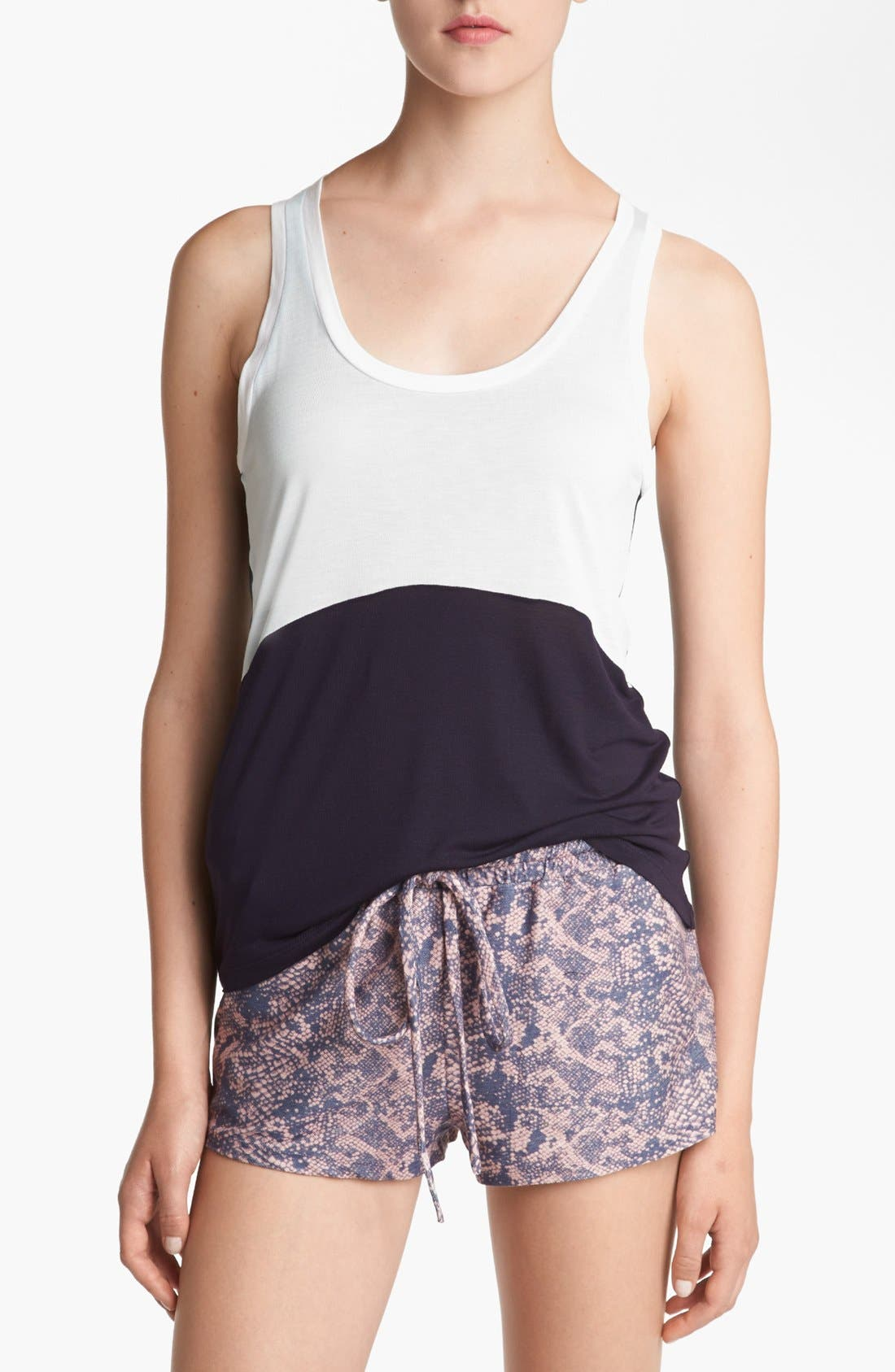 Alternate Image 1 Selected - Piper Colorblock Sleeveless Tank