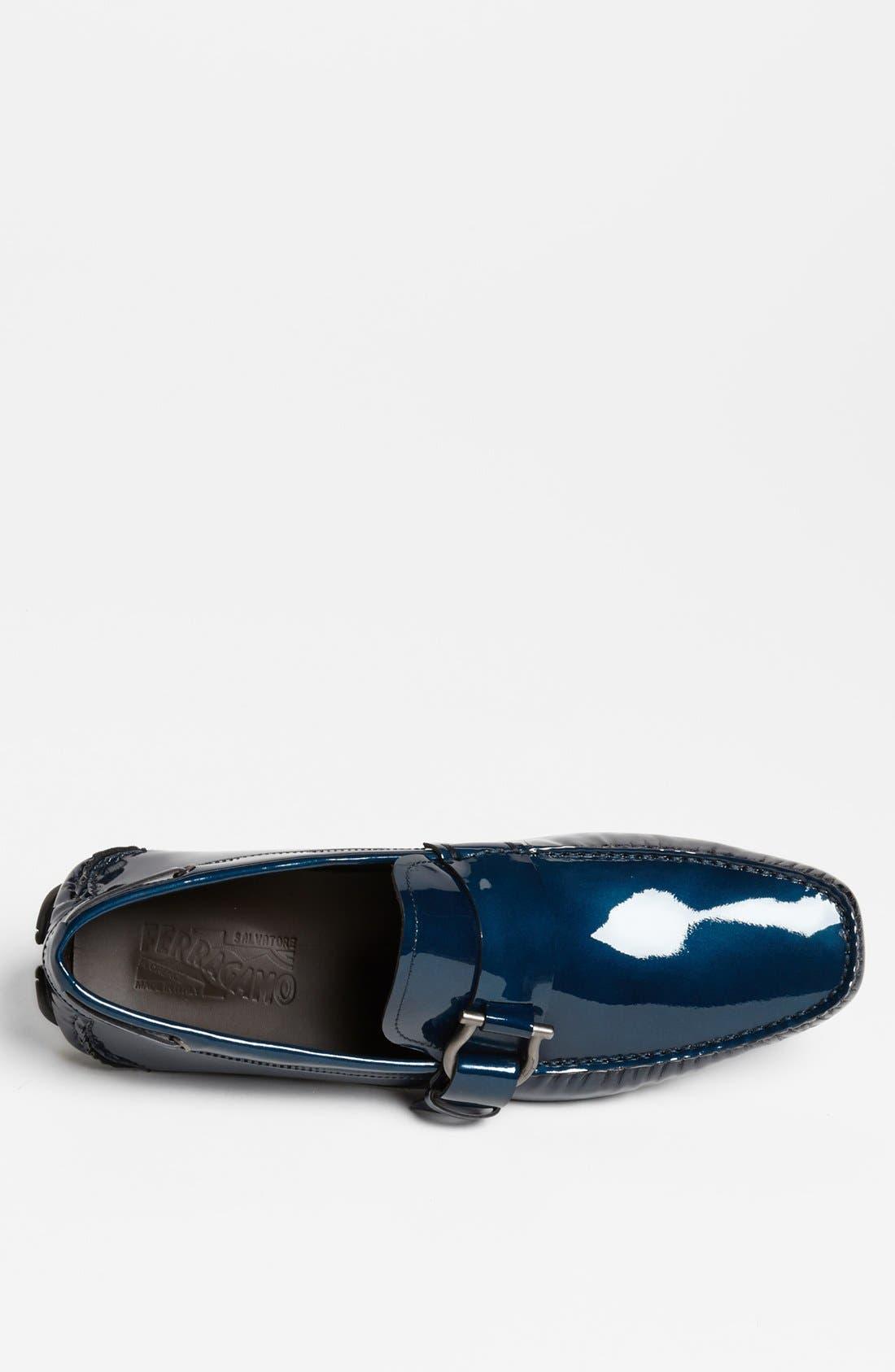 Alternate Image 3  - Salvatore Ferragamo 'Cabo' Driving Shoe