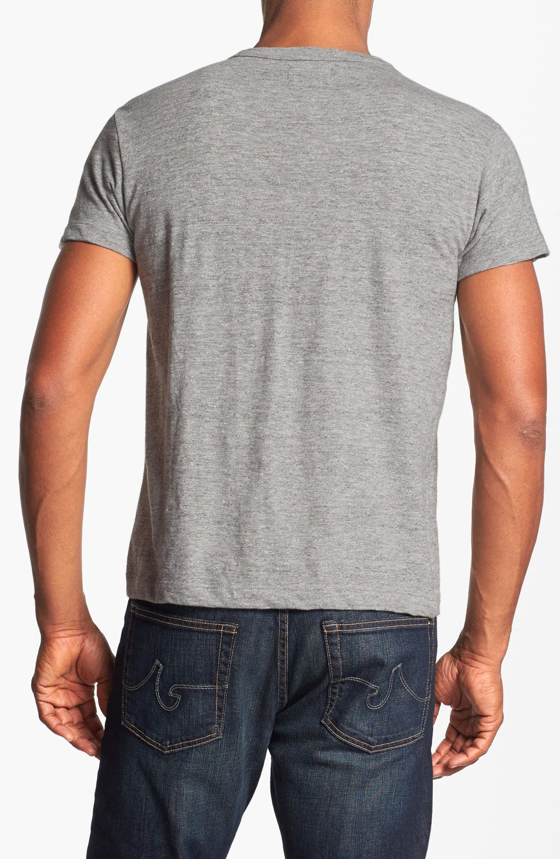 'Parole Whiskey' Trim Fit T-Shirt,                             Alternate thumbnail 2, color,                             Grey Heather