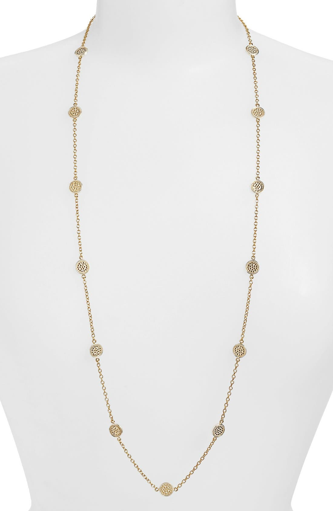 Alternate Image 1 Selected - Anna Beck 'Gili' Mini Disc Long Necklace