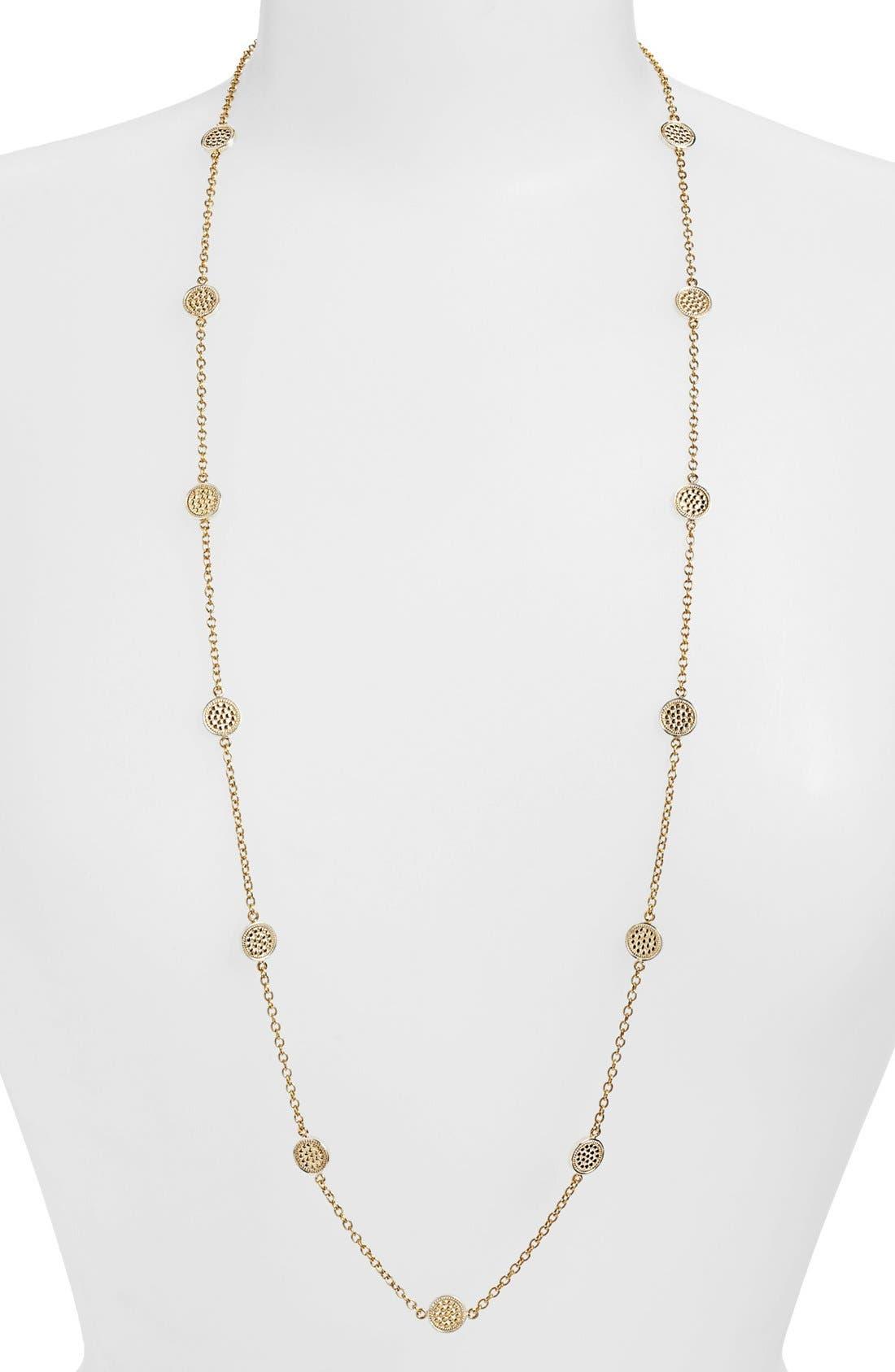 Main Image - Anna Beck 'Gili' Mini Disc Long Necklace