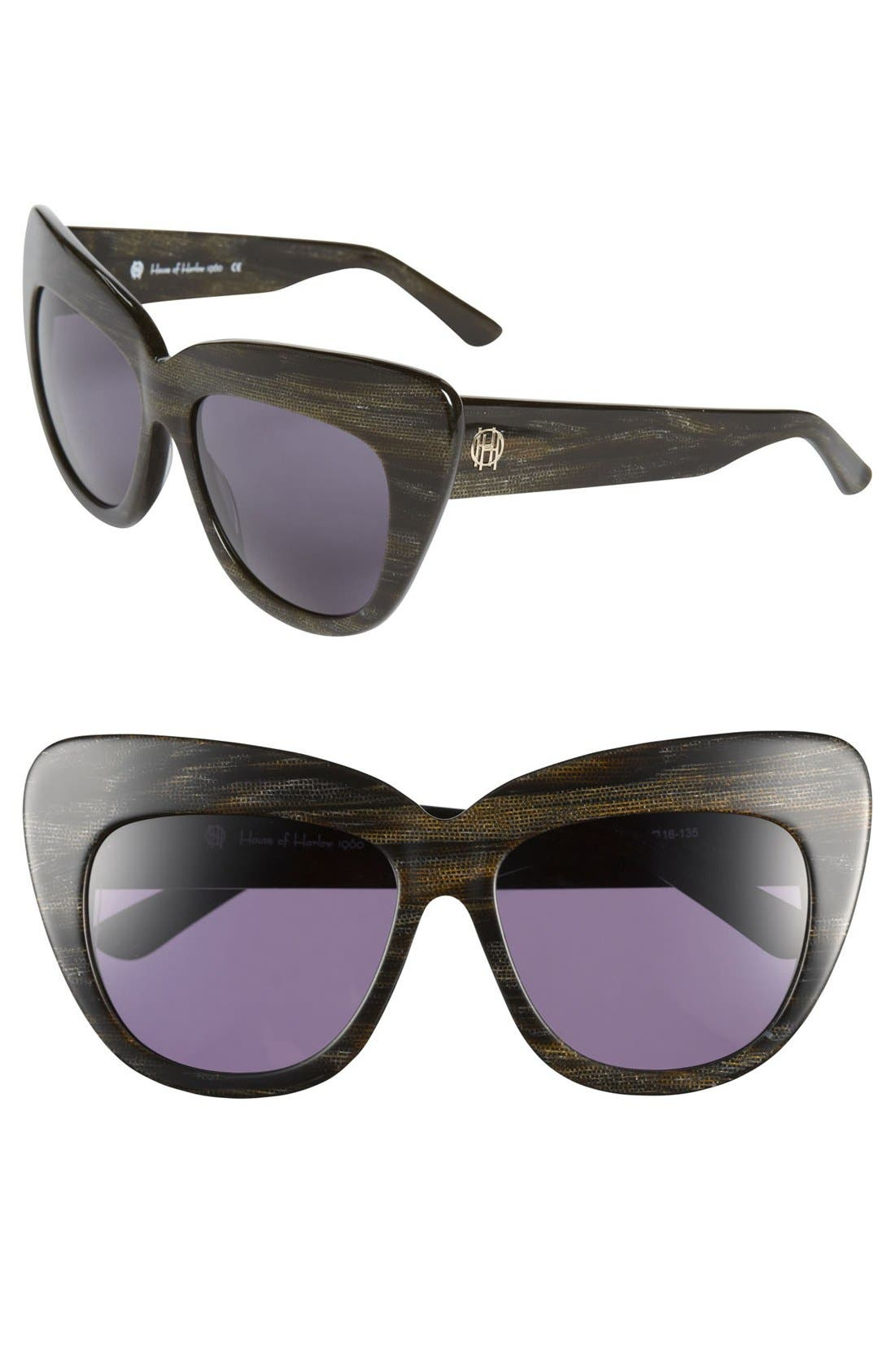 Main Image - House of Harlow 1960 'Chelsea' 56mm Sunglasses