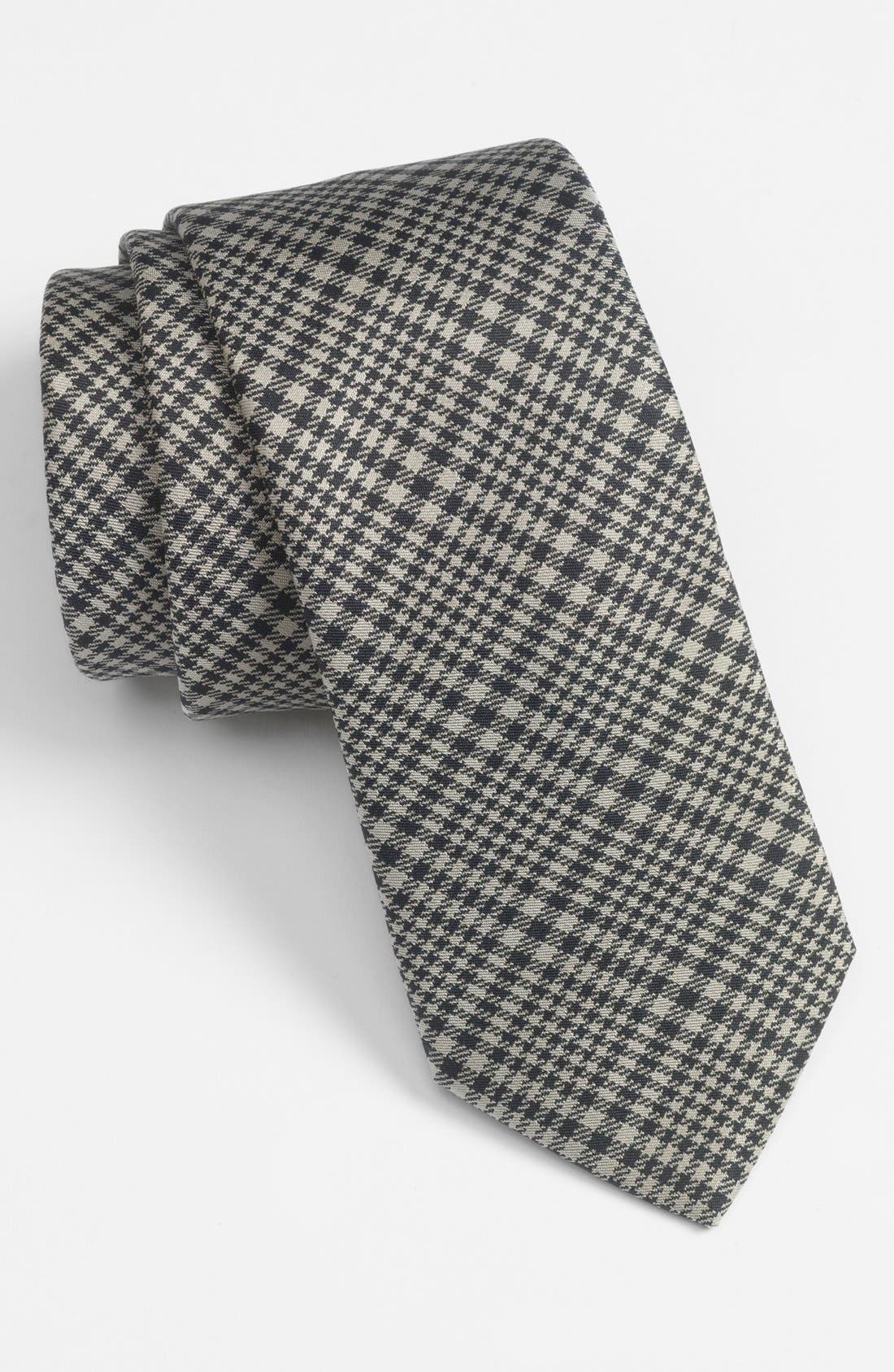 Alternate Image 1 Selected - Yves Saint Laurent Woven Silk Tie