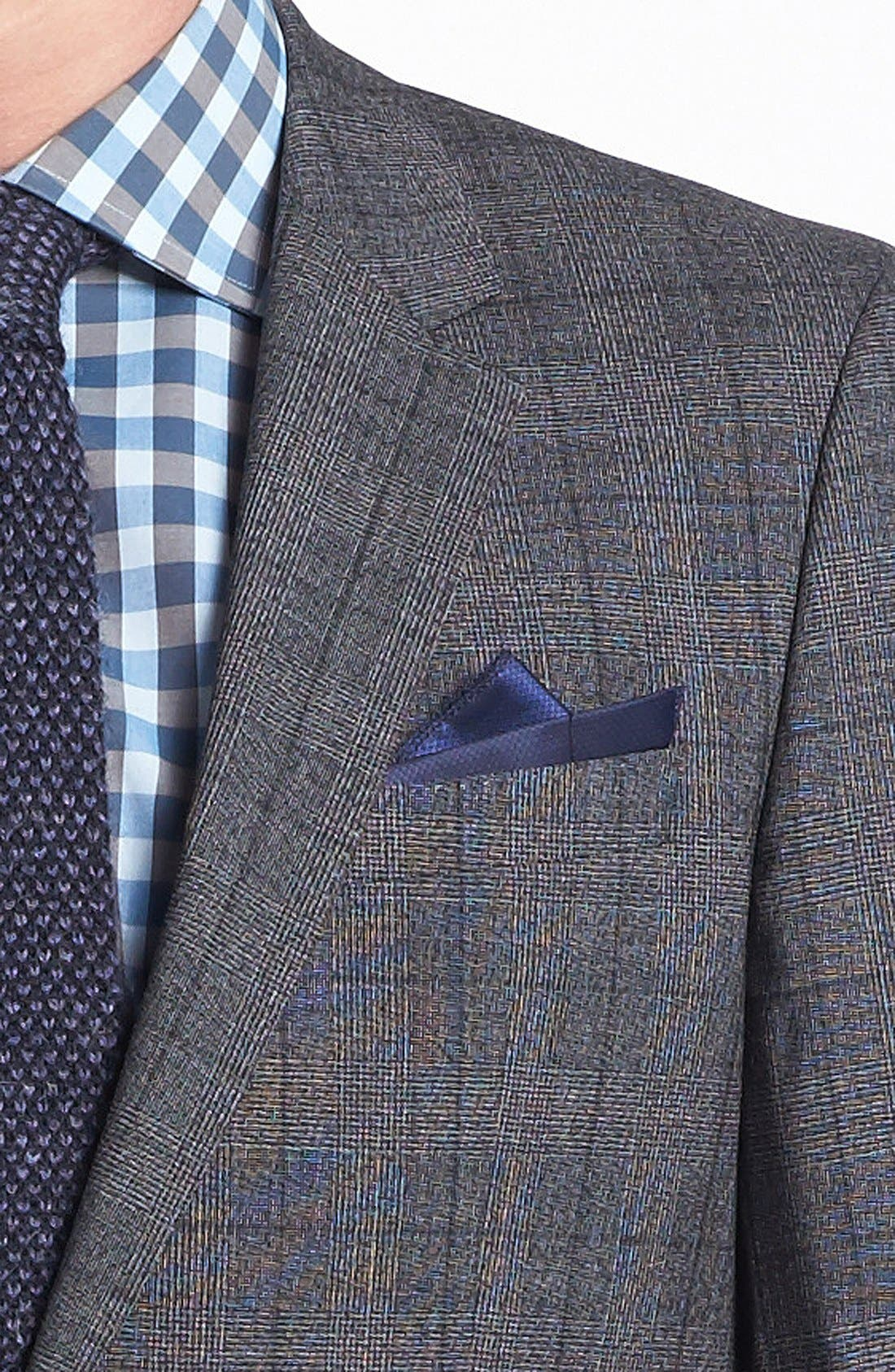 Alternate Image 2  - BOSS HUGO BOSS 'Huge/Genius' Trim Fit Plaid Suit