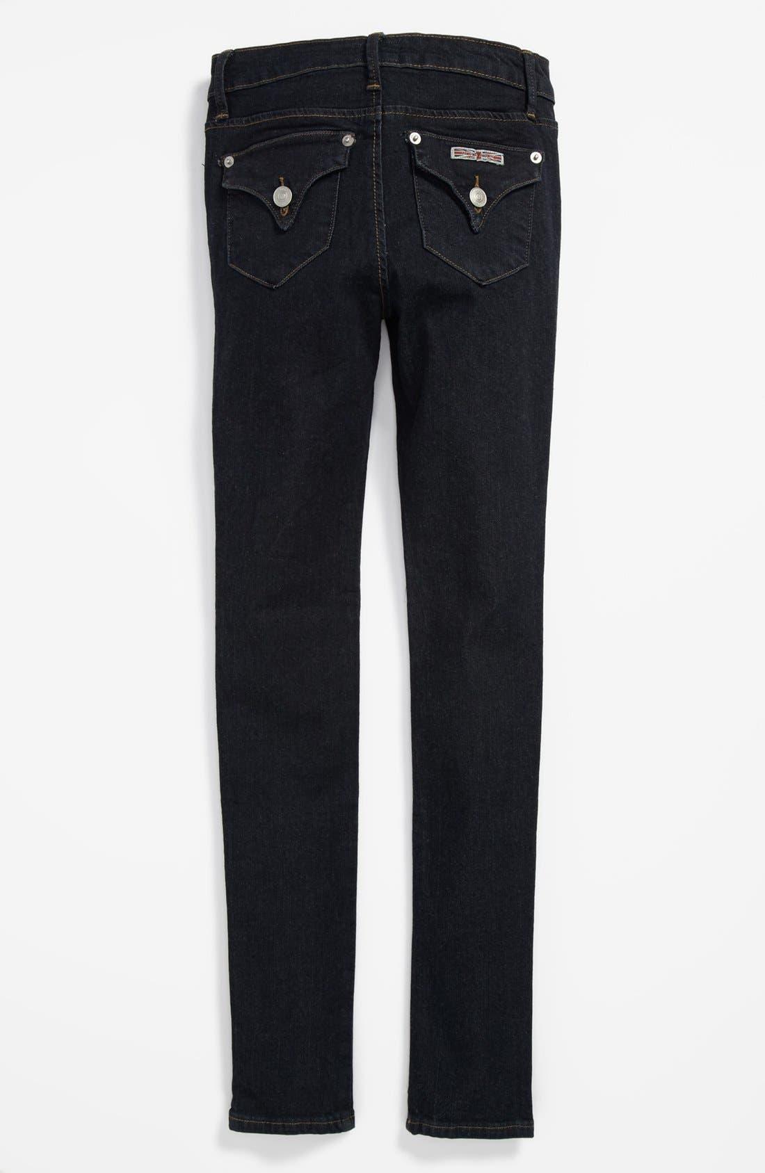 Alternate Image 1 Selected - Hudson Kids 'Collin' Skinny Jeans (Big Girls) (Online Only)