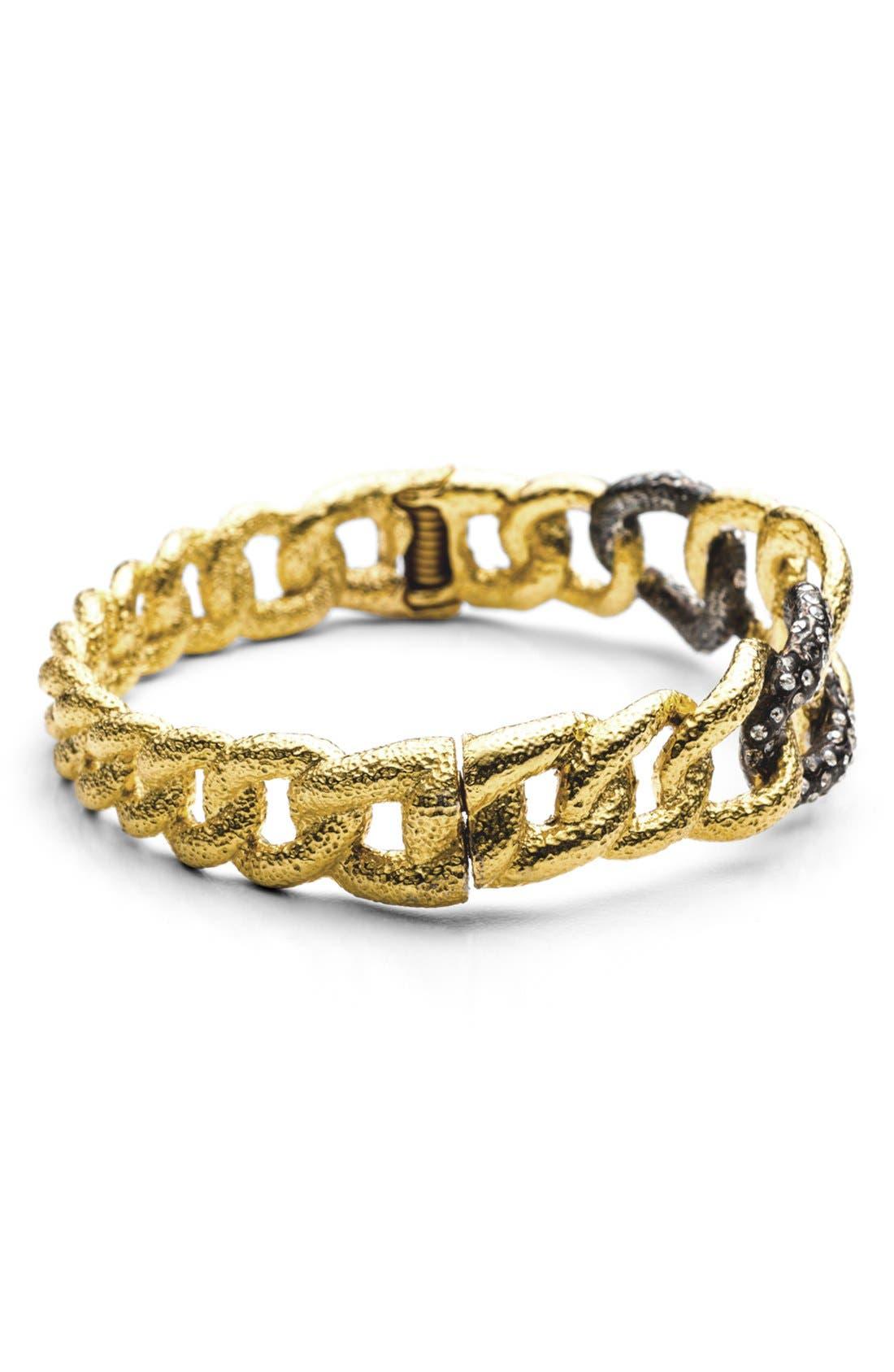 Alternate Image 4  - Alexis Bittar 'Elements - Jardin de Papillon' Hinged Chain Link Bracelet
