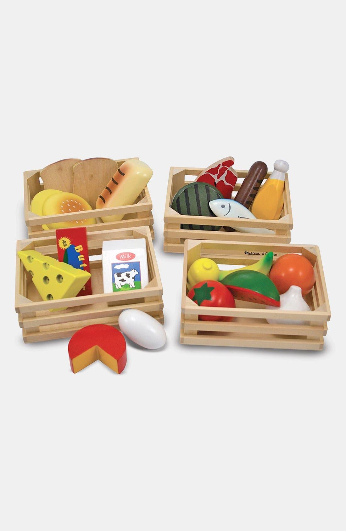 Food Groups Set,                         Main,                         color, Multi
