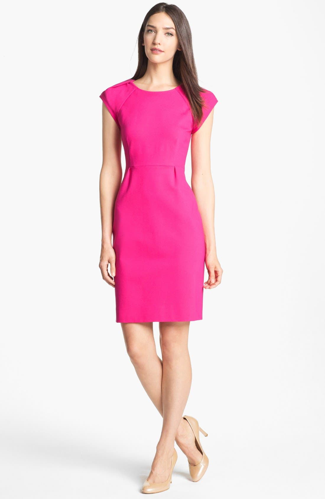 Main Image - kate spade new york 'ivie' stretch sheath dress (Online Only)