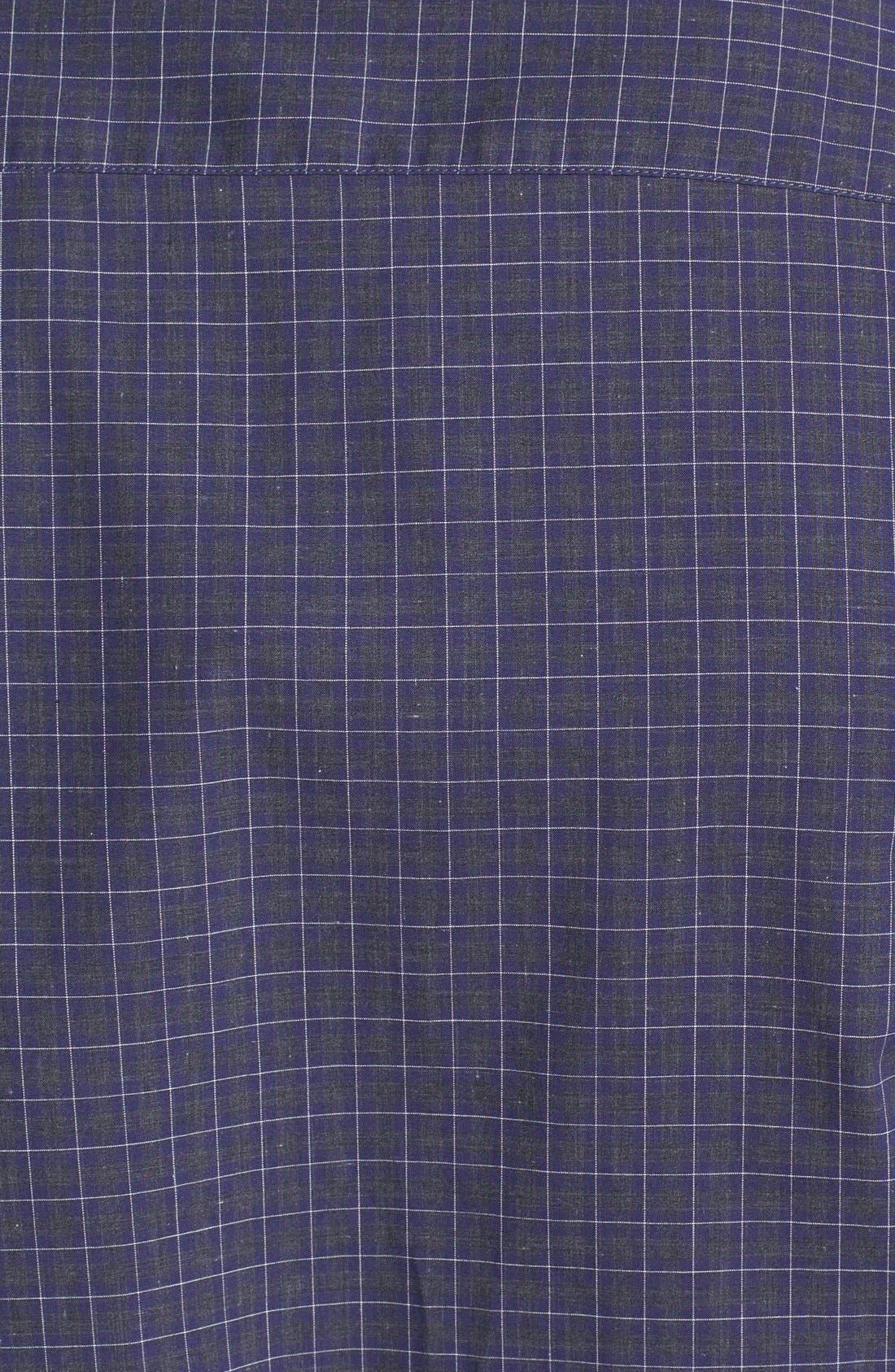 Alternate Image 3  - Z Zegna Colorblock Check Woven Shirt