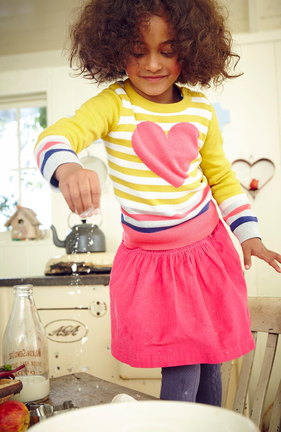 Alternate Image 2  - Mini Boden Intarsia Sweater (Toddler Girls, Little Girls & Big Girls)