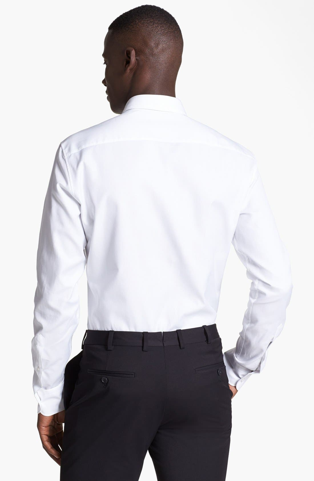 Alternate Image 2  - Z Zegna Slim Fit Oxford Shirt
