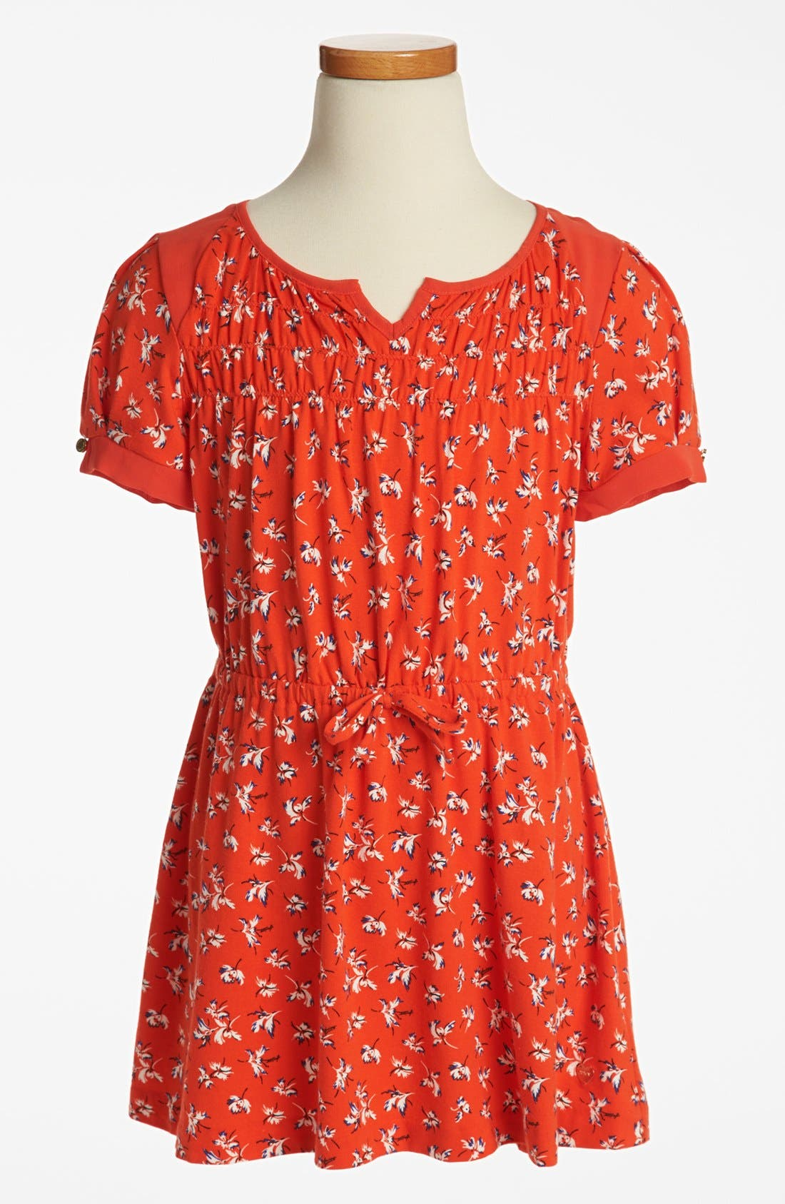 Main Image - Juicy Couture 'Iris' Print Dress (Big Girls)