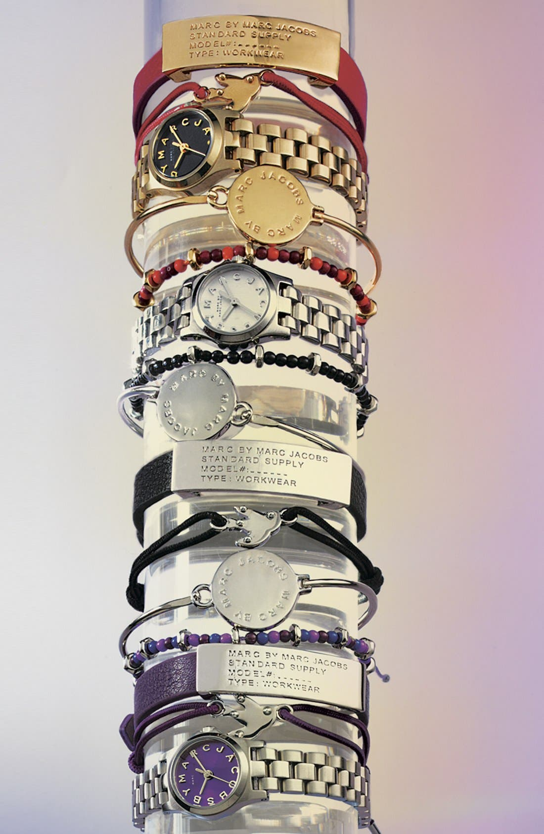 Alternate Image 3  - MARC BY MARC JACOBS 'Classic Marc' Disc Skinny Bangle