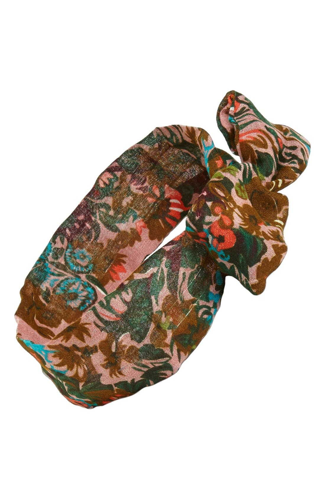 Alternate Image 1 Selected - Tasha Floral Print Wire Head Wrap