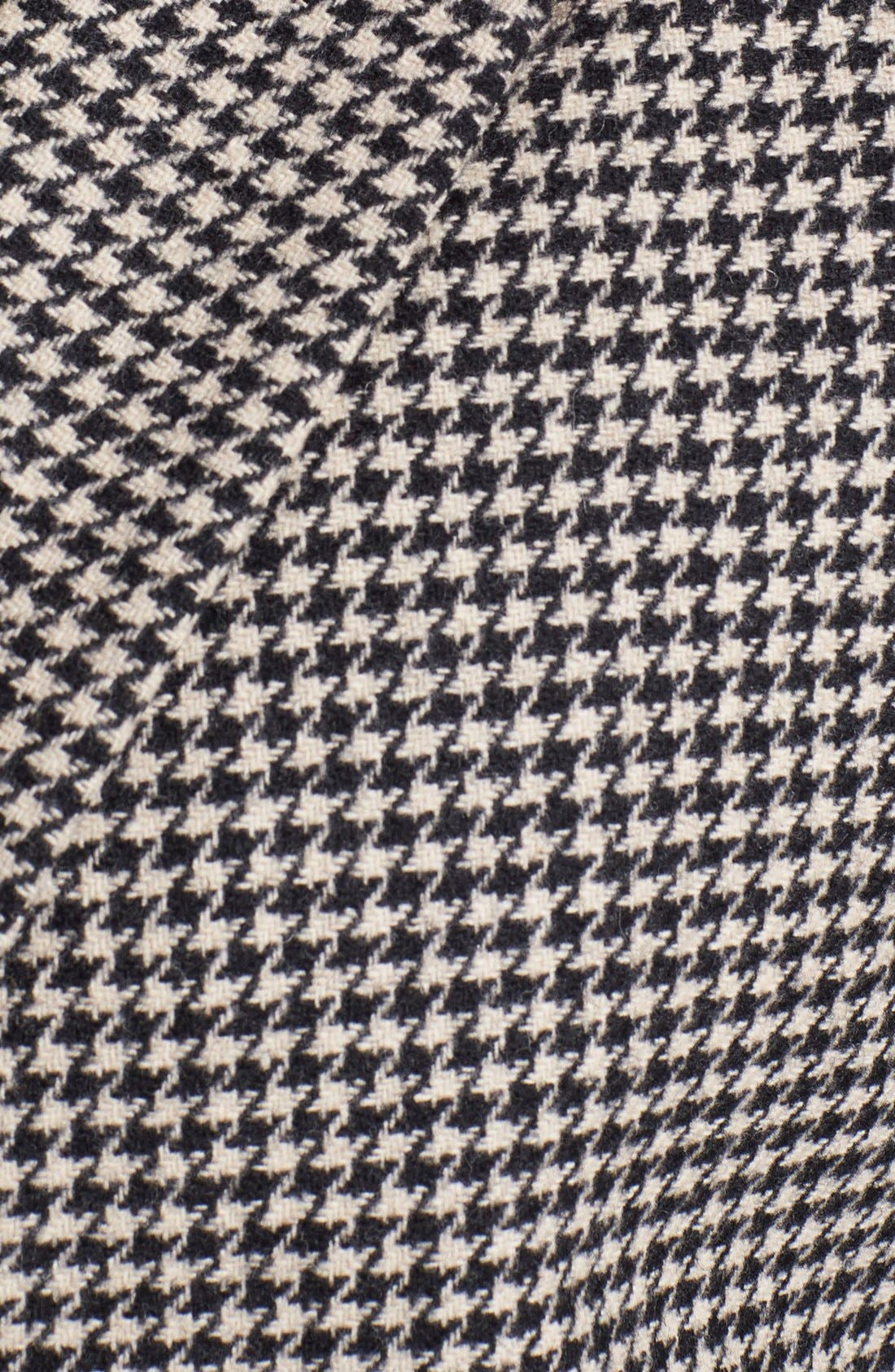Alternate Image 3  - Wallin & Bros. Trim Fit Houndstooth Vest