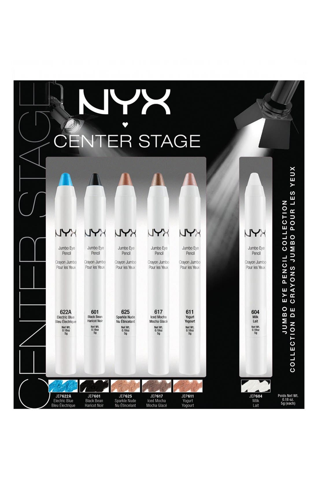Alternate Image 1 Selected - NYX Jumbo Eye Collection