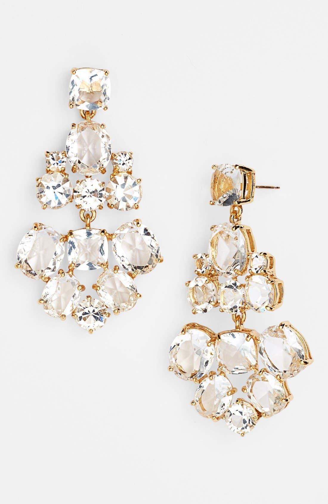 Alternate Image 1 Selected - kate spade new york chandelier earrings