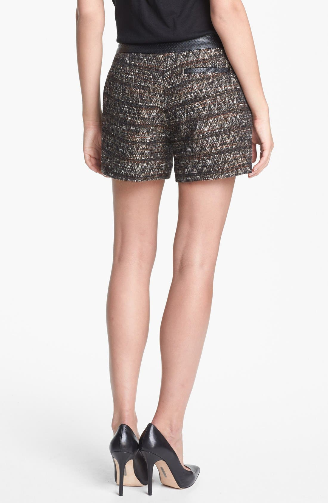 Alternate Image 2  - Trina Turk 'Gathering' Tweed Shorts