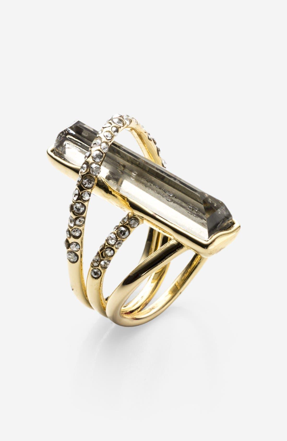 Main Image - Alexis Bittar 'Miss Havisham' Open Doublet Ring
