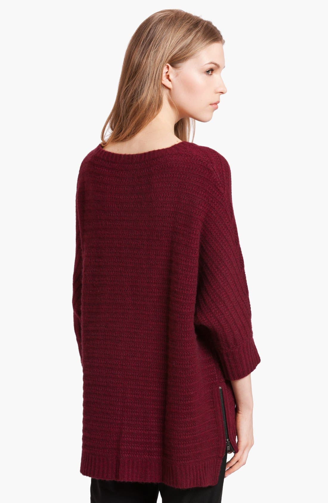 Alternate Image 2  - Zadig & Voltaire 'Athina Deluxe' Dolman Sleeve Cashmere Sweater
