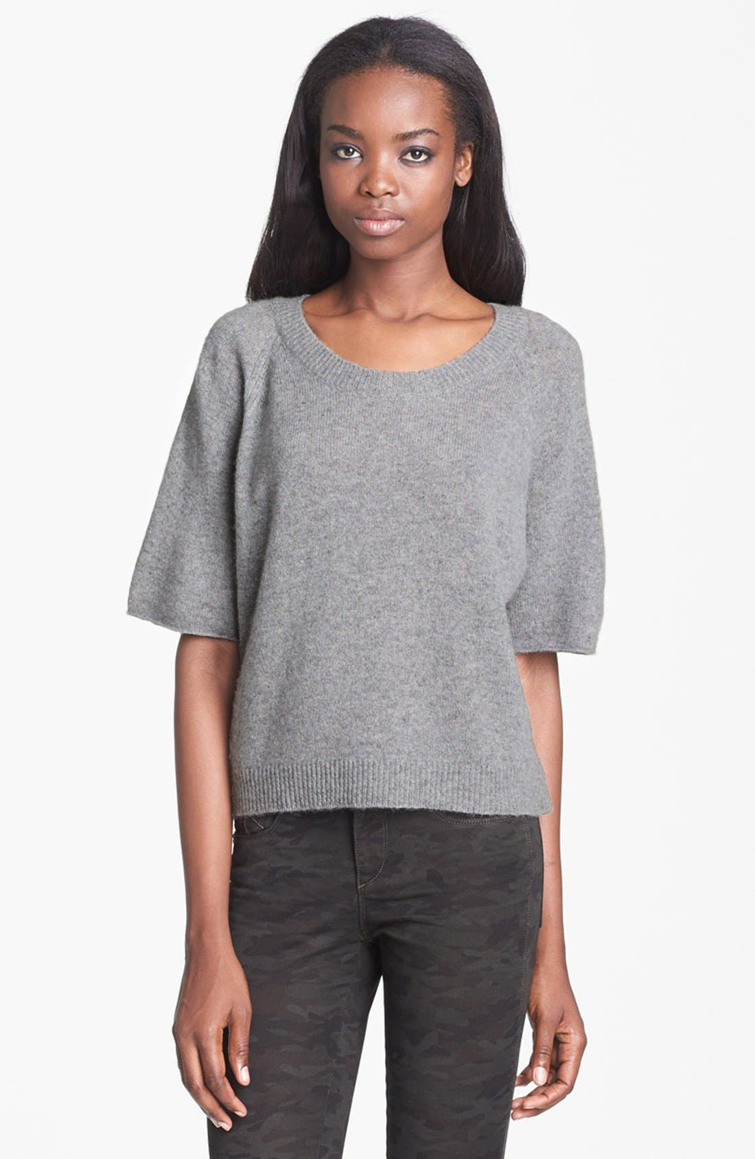 Alternate Image 1 Selected - Enza Costa Cashmere Top