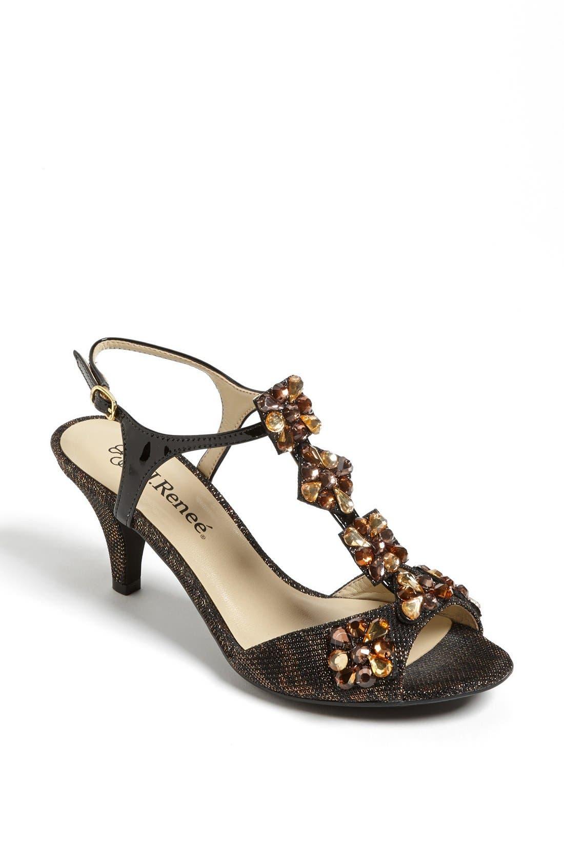 Alternate Image 1 Selected - J. Renee 'Raspy' Sandal (Online Only)