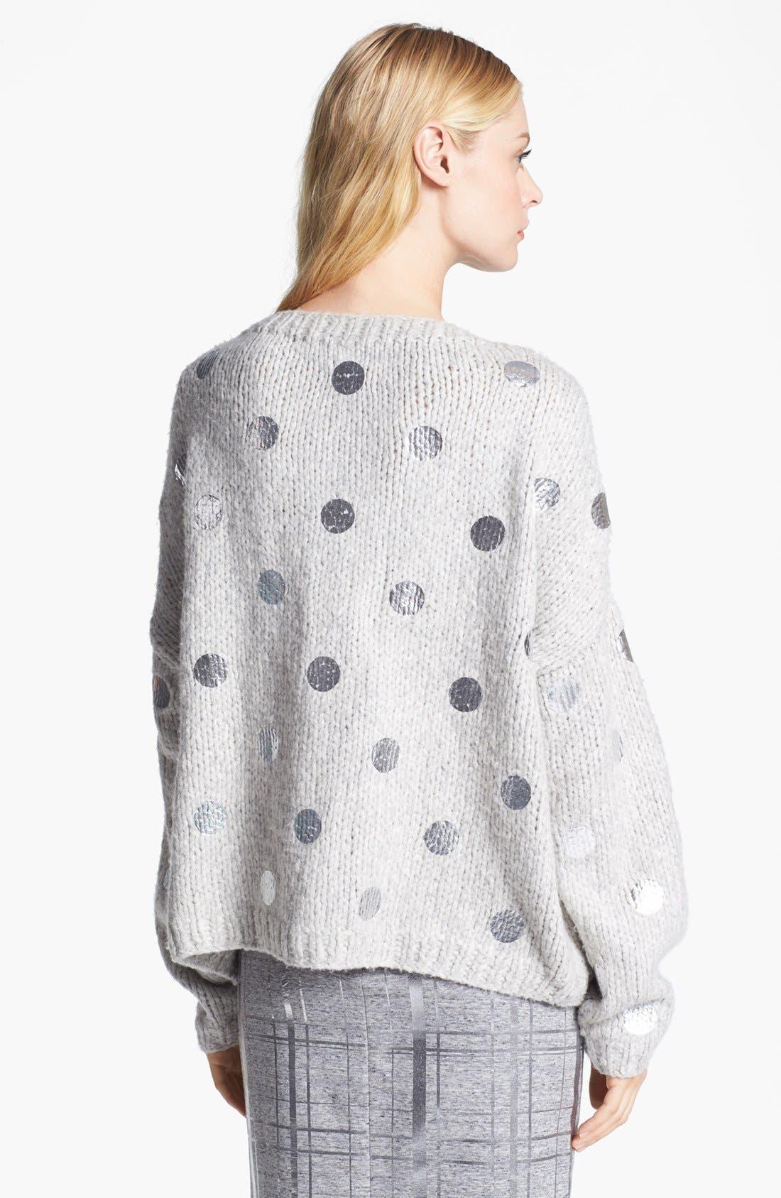 Alternate Image 3  - Elizabeth and James Foil Dot Sweater