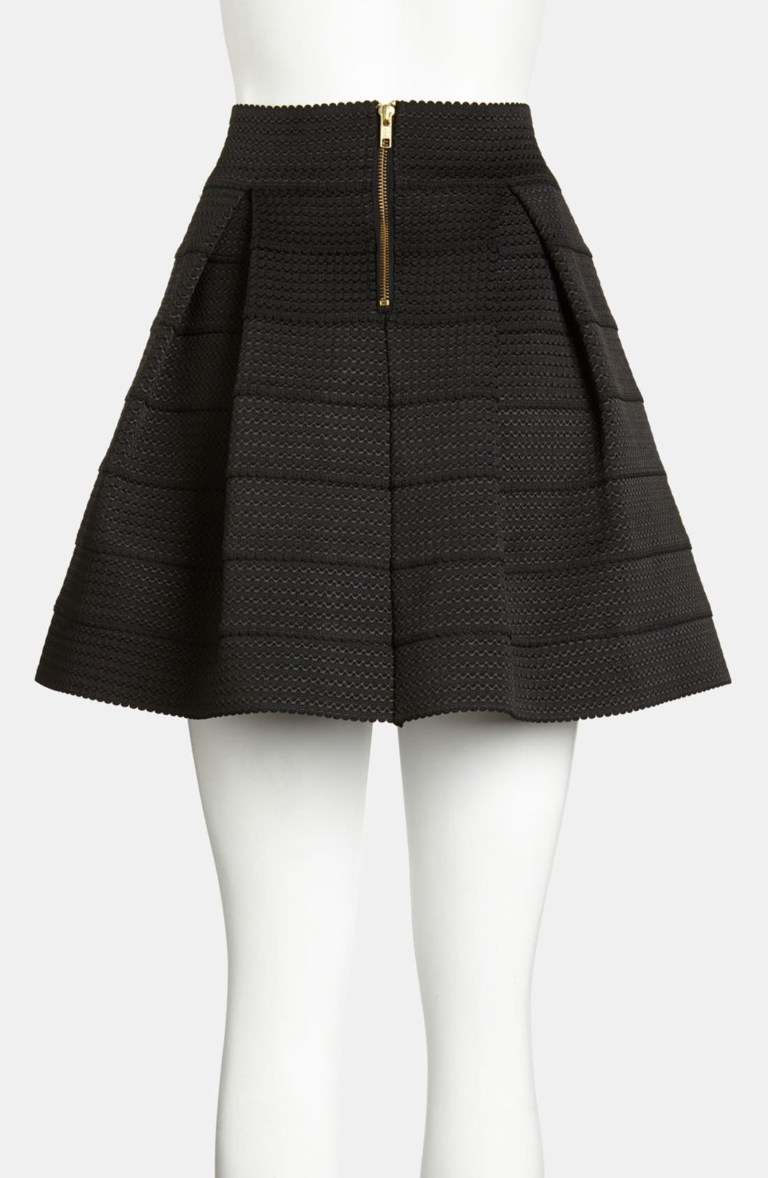 Alternate Image 2  - Devlin Pleated Skirt